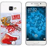 Samsung Galaxy A7 (2016) A710 Silikon-Hülle X Mas Weihnachten  M8