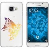 Samsung Galaxy A5 (2016) A510 Coque en Silicone floralrenard M1-3