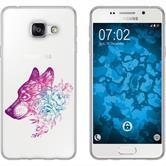 Samsung Galaxy A3 (2016) A310 Coque en Silicone floral M3-6