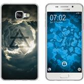 Samsung Galaxy A3 (2016) A310 Coque en Silicone Elements Motif 1