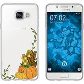 Samsung Galaxy A5 (2016) A510 Custodia in Silicone autunno  M5