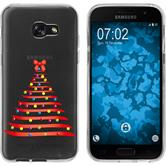 Samsung Galaxy A7 (2017) Silicone Case Christmas X Mas M1