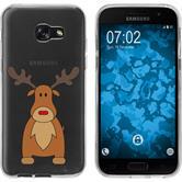 Samsung Galaxy A7 (2017) Silicone Case Christmas X Mas M3