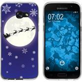 Samsung Galaxy A7 (2017) Silicone Case Christmas X Mas M4