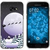 Samsung Galaxy A7 (2017) Silicone Case Christmas X Mas M5
