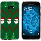 Samsung Galaxy A7 (2017) Silicone Case Christmas X Mas M7