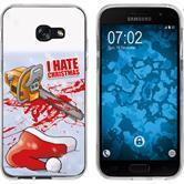 Samsung Galaxy A7 (2017) Silicone Case Christmas X Mas M8