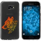 Samsung Galaxy A5 2017 Silikon-Hülle Floral  M3-2