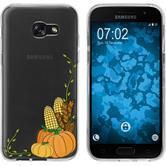 Samsung Galaxy A7 (2017) Silicone Case autumn M5