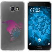 Samsung Galaxy A5 (2016) A510 Funda de silicona floral M4-6