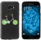 Samsung Galaxy A7 (2017) Silicone Case Bike M1