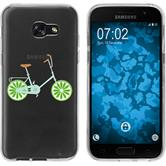 Samsung Galaxy A7 (2017) Silicone Case Bike M2
