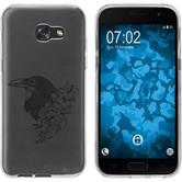Samsung Galaxy A5 2017 Silicone Case floral M4-1