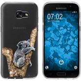 Samsung Galaxy A5 2017 Silicone Case vector animals M9