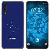 Samsung Galaxy A50 Silikon-Hülle Sternzeichen  M8