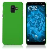 Hardcase Galaxy A6 (2018) rubberized green Case