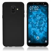 Silicone Case Galaxy A6 (2018) matt black Case