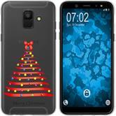 Samsung Galaxy A6 (2018) Silicone Case Christmas X Mas M1