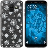 Samsung Galaxy A6 (2018) Silikon-Hülle X Mas Weihnachten  M2