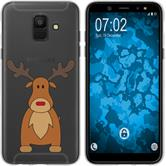 Samsung Galaxy A6 (2018) Silikon-Hülle X Mas Weihnachten  M3