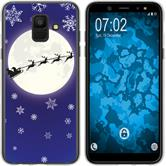 Samsung Galaxy A6 (2018) Silikon-Hülle X Mas Weihnachten  M4