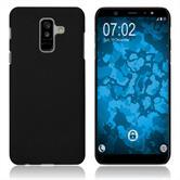 Hardcase Galaxy A6 Plus (2018) rubberized black Case