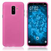 Silicone Case Galaxy A6 Plus (2018) matt hot pink Case