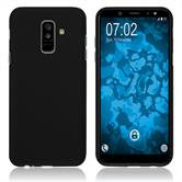 Silicone Case Galaxy A6 Plus (2018) matt black Case