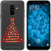 Samsung Galaxy A6 Plus (2018) Silicone Case Christmas X Mas M1
