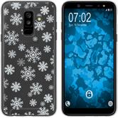 Samsung Galaxy A6 Plus (2018) Silicone Case Christmas X Mas M2
