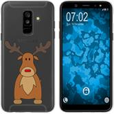 Samsung Galaxy A6 Plus (2018) Silicone Case Christmas X Mas M3