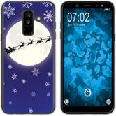 Samsung Galaxy A6 Plus (2018) Silicone Case Christmas X Mas M4