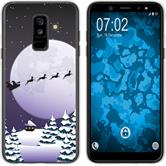 Samsung Galaxy A6 Plus (2018) Silicone Case Christmas X Mas M5