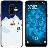 Samsung Galaxy A6 Plus (2018) Silicone Case Christmas X Mas M6