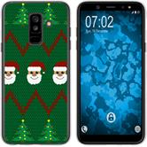 Samsung Galaxy A6 Plus (2018) Silicone Case Christmas X Mas M7