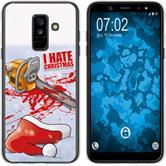 Samsung Galaxy A6 Plus (2018) Silikon-Hülle X Mas Weihnachten  M8