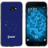 Samsung Galaxy A7 (2017) Coque en Silicone signe du zodiaque M12