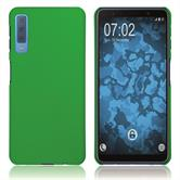 Hardcase Galaxy A7 (2018) rubberized green Cover