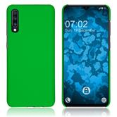 Hardcase Galaxy A70 rubberized green Cover