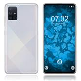 Silicone Case Galaxy A71 crystal-case Crystal Clear Cover