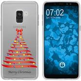 Samsung Galaxy J3 2017 Silikon-Hülle X Mas Weihnachten  M1