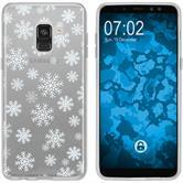 Samsung Galaxy A8 (2018) Plus Silikon-Hülle X Mas Weihnachten  M2