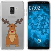Samsung Galaxy J3 2017 Silikon-Hülle X Mas Weihnachten  M3