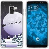 Samsung Galaxy A8 (2018) EU Version Silikon-Hülle X Mas Weihnachten  M5