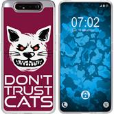 Samsung Galaxy A80 Silicone Case Crazy Animals M1