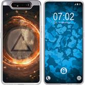 Samsung Galaxy A80 Silicone Case Element fire M3