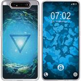 Samsung Galaxy A80 Silicone Case Element water M4
