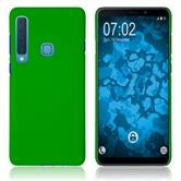 Hardcase Galaxy A9 (2018) rubberized green Cover