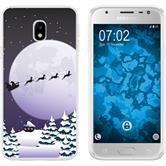 Samsung Galaxy J3 2017 Silikon-Hülle X Mas Weihnachten  M5