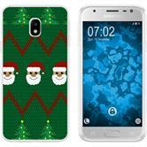 Samsung Galaxy J3 2017 Silikon-Hülle X Mas Weihnachten  M7